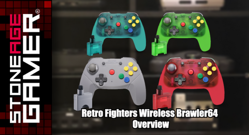 Retro Fighters Wireless Brawler64 Overview