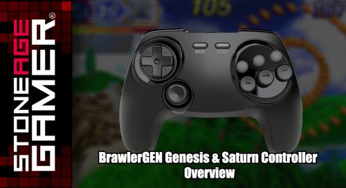 BrawlerGEN Genesis & Saturn Controller Overview