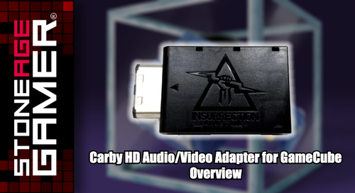 Carby HD Audio/Video Adapter for GameCube Overview