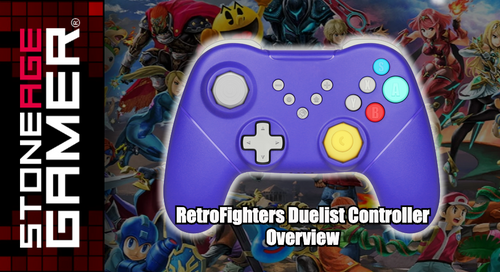 RetroFighters Duelist Controller Overview