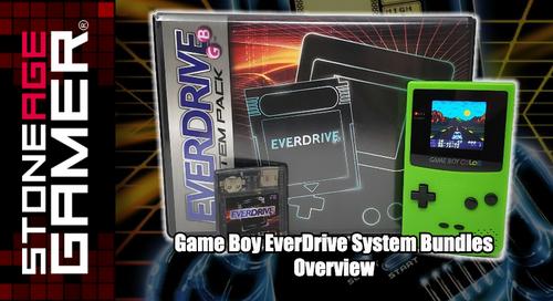 Pre-Modded Game Boy EverDrive System Bundles Overview
