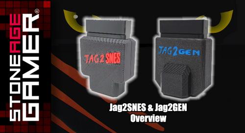 Jag2SNES & Jag2GEN Overview
