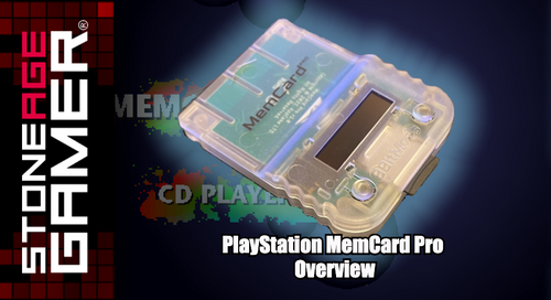 PlayStation MemCard Pro Overview