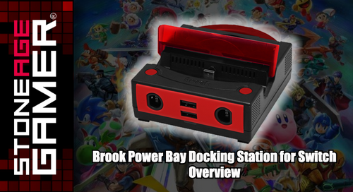 Power Bay Portable Docking Station for Switch Overview