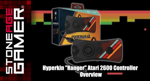"Hyperkin ""Ranger"" Atari 2600 Controller Overview"
