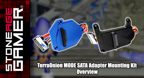 TerraOnion MODE Easy Access SATA Adapter Mounting Kit Overview