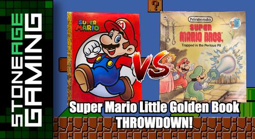 Stone Age Gaming - Super Mario Little Golden Book THROWDOWN!