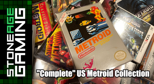 """Stone Age Gaming - """"Complete"""" US Metroid Collection"""