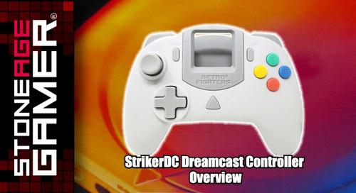 StrikerDC Dreamcast Controller Overview
