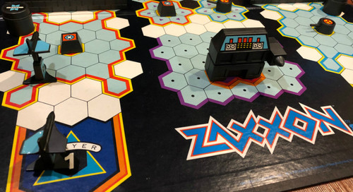 Feeling Board: The Zaxxon Board Game