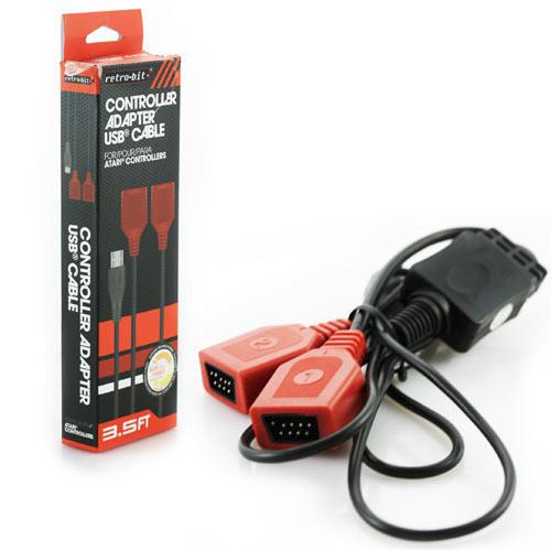 Atari 2600 to USB Adapter [2-player] (retro-bit)