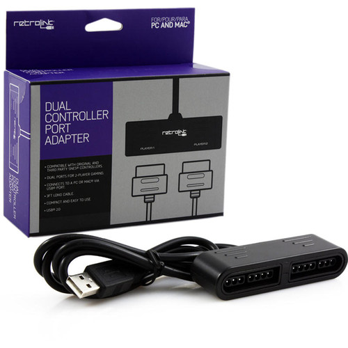 SNES to USB Adapter [2 player] (Retrolink)