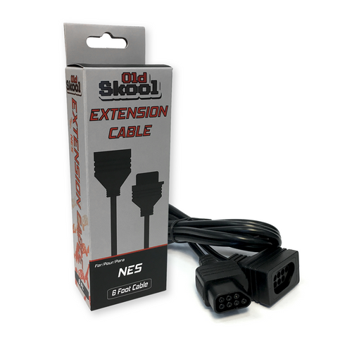 NES Controller Extension Cable (Old Skool)