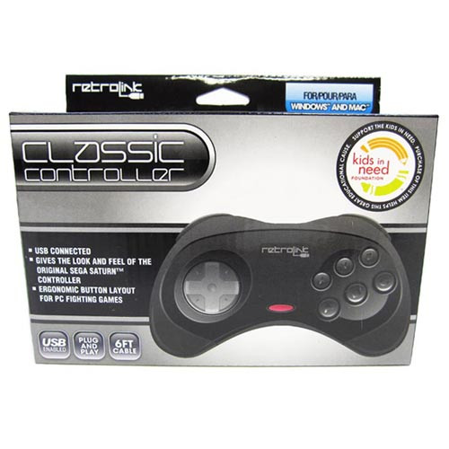 PC/Mac USB Saturn Controller (Retrolink)
