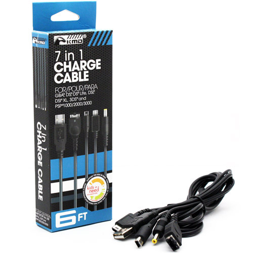 7-in-1 Portable USB Charge Cable (KMD)