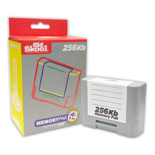 N64 256KB Memory Card (Old Skool)