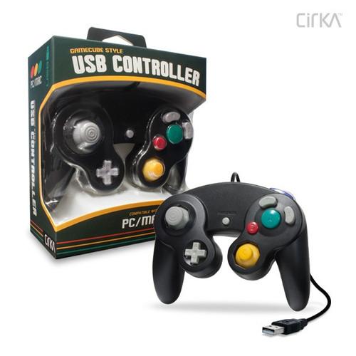 PC/ Mac Premium GameCube-Style USB Controller CirKa