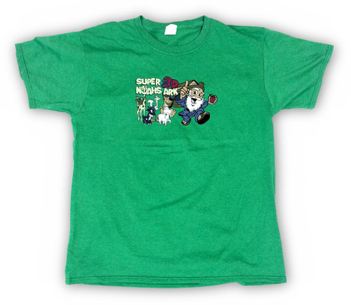 Super 3D Noah's Ark T-shirt