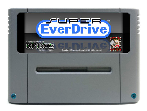 Super EverDrive DSP (Granite / Blue) [JP/EU]