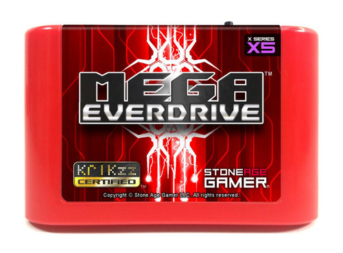 Mega EverDrive X5 (Flame Red)