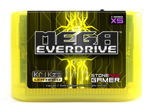 Mega EverDrive X5 (Electric Yellow)