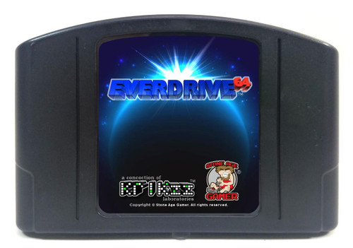 EverDrive64 v2.X (Pitch Black / Blue)