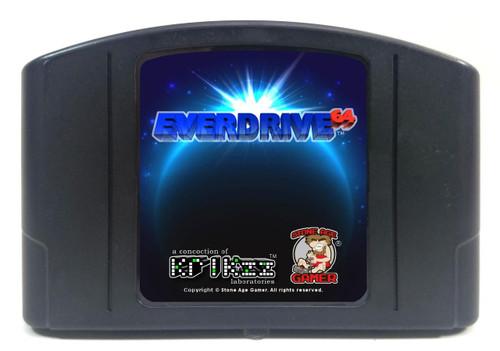 EverDrive64 v2.X (Pitch Black / Blue)