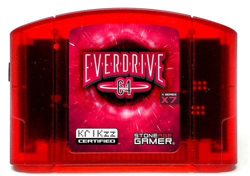 EverDrive64 X7 (Funtastic Crimson)