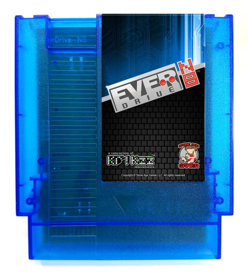 EverDrive-N8 (Ocean Blue) [NES]