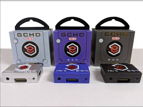 GCHD Mk. II Plug 'n Play HDMI GameCube  Adapter HD 480p