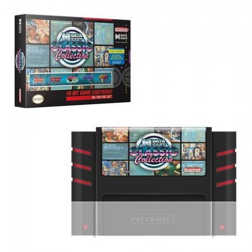 Data East Classic Collection Multi-Cart for SNES