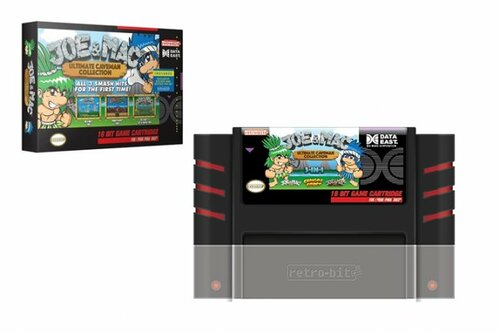 Joe & Mac: Ultimate Caveman Collection Multi-Cart for SNES