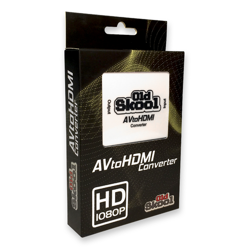 Converter - AV to HDMI Compatible Adapter
