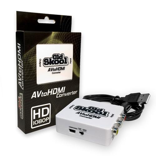 Converter - AV to HDMI Compatible Adapter