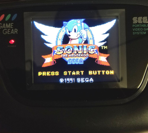 Game Gear LCD Modded System