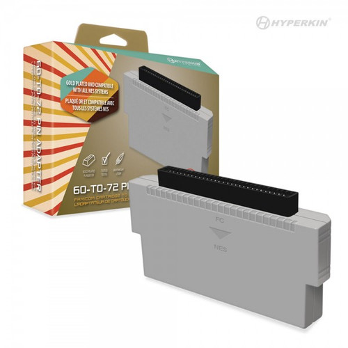 60 to 72 Pin Adapter for Famicom to NES