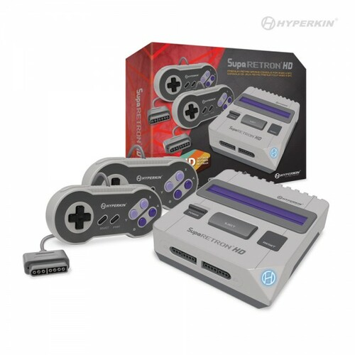 SupaRetroN HD Gaming Console for SNES/ Super Famicom