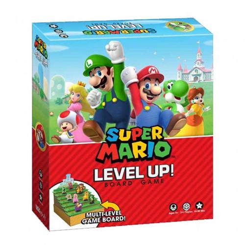 Super Mario Level Up Boardgame