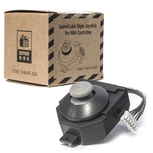 Replacement Controller Joystick for N64 (GameCube Style) - RepairBox