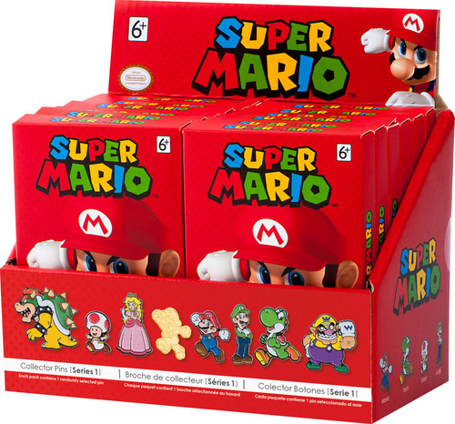 Super Mario Series 1 Collector Pins Blind Pack