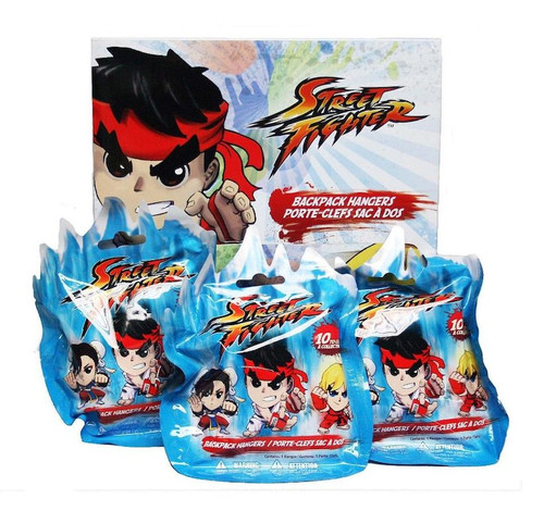 Street Fighter backpack hangar blind pack