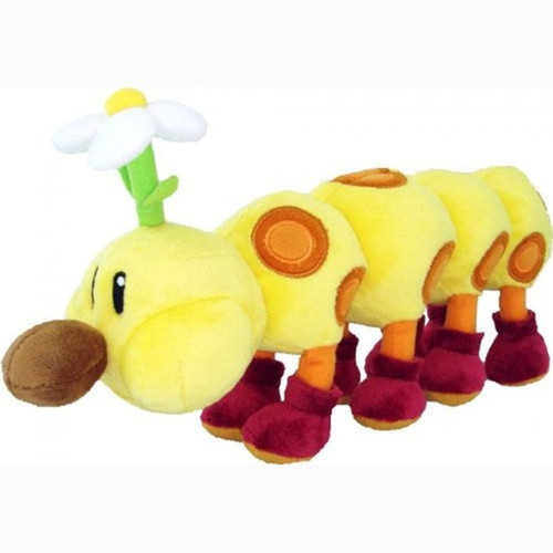 PLUSH Super Mario - Wiggler 13""