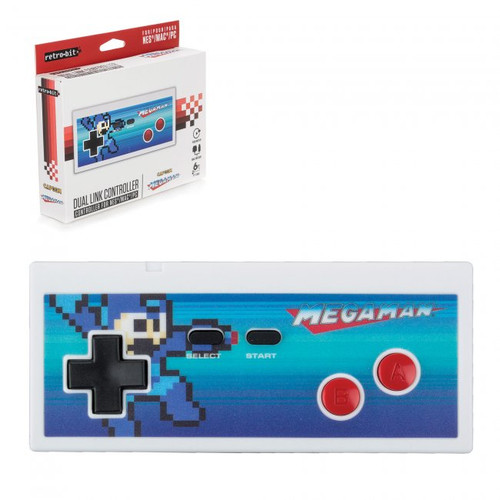 PC USB NES Style Controller - Mega Man