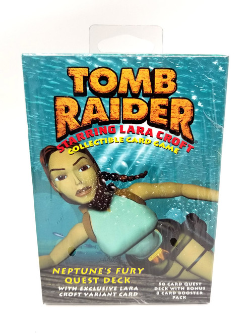 Tomb Raider Card Game - Neptunes Fury