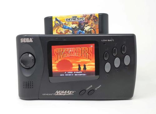 Sega Nomad LCD modded System