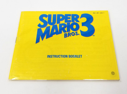 Nintendo NES Manual and Insert Bags