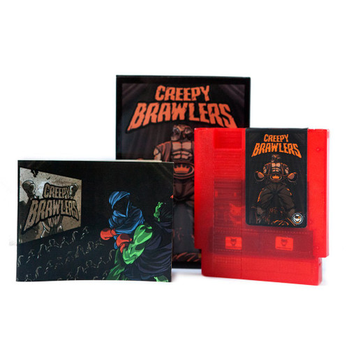 Creepy Brawlers - Nintendo NES Homebrew Game