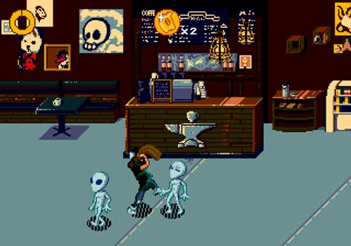 Coffee Crisis - Sega Genesis Homebrew Game