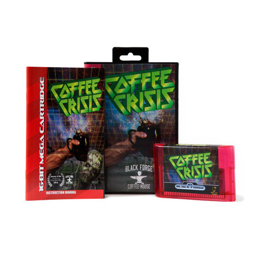 Coffee Crisis - Sega Genesis Homebrew Game