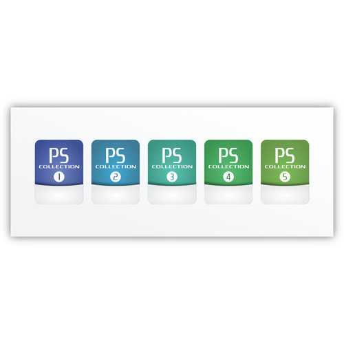 PSIO SD Card Label Pack (1 - 5)